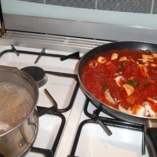 dinner cooking