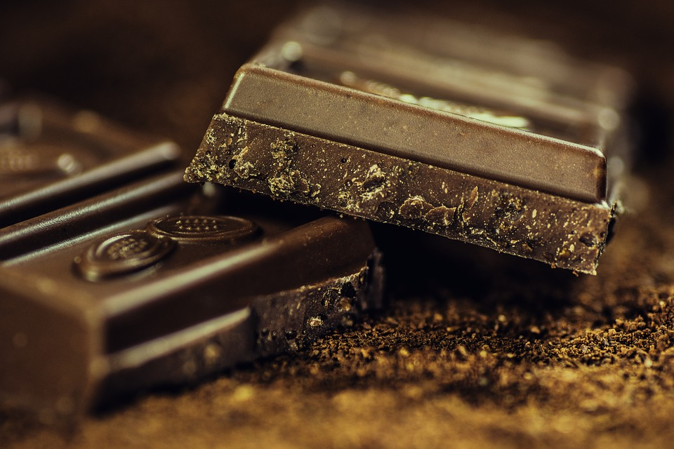 dark chocolate reduces inflammation in the body