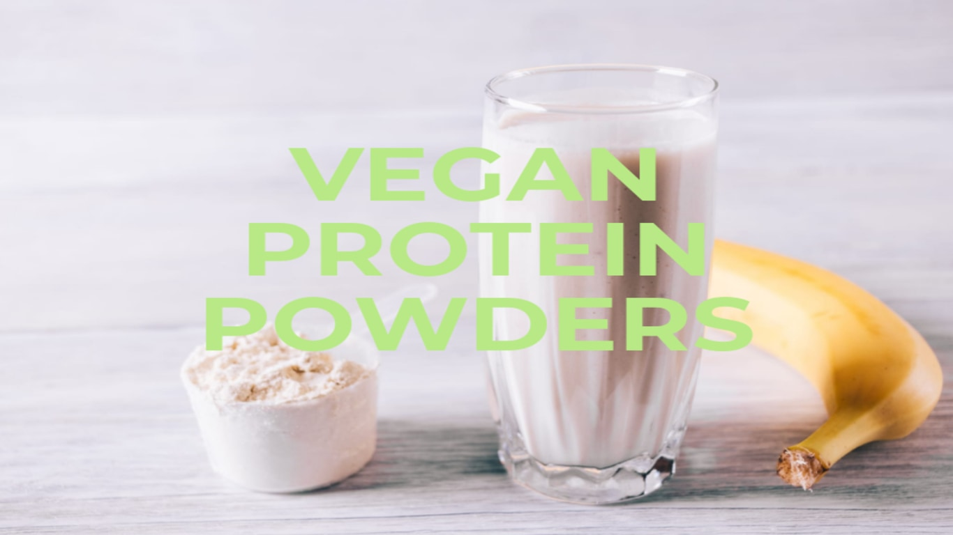 vegan protein powder stevia