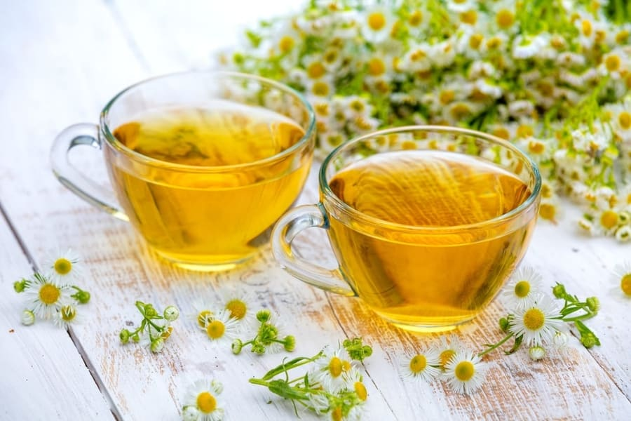 chamomile tea is useful in treating both anxiety and depression in humans