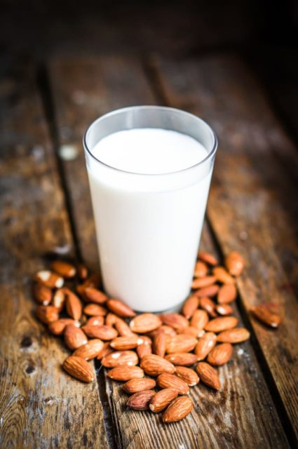 almond milk with no carrageenan and guar gum