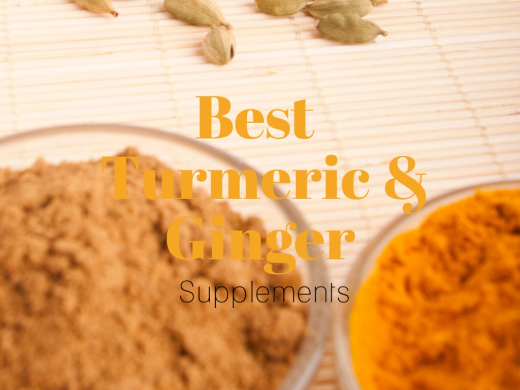 turmeric and ginger supplements with black pepper - bioperine