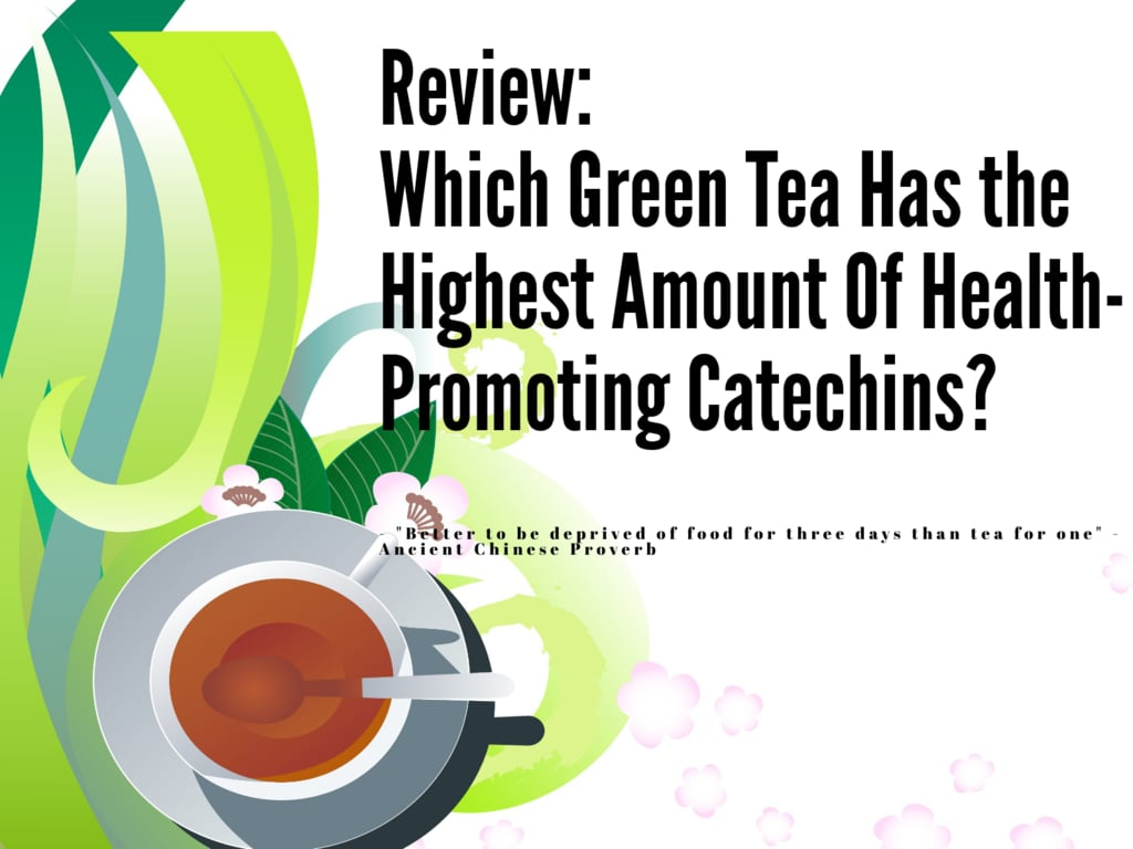 green tea catechin content by brand and country