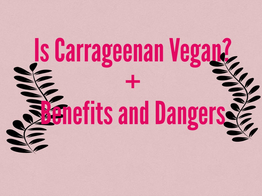 vegan carrageenan + benefits and side effects